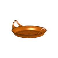 Защита для сковороды Frypan на радиатор Jetboil Bottom Cover Orange