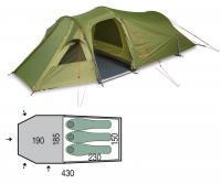 Палатка трехместная Pinguin Storm 3 Duralu