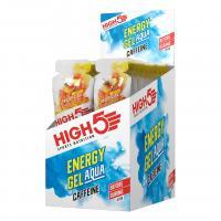Гель энергетический HIGH5 Energy Gel Aqua Caffeine Hit 66g Tropical (Упаковка 20шт)