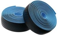 Обмотка руля Merida Bartape Soft W Black w Blue dots 2100mm 30mm