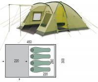 Палатка четырехместная Pinguin Nimbus 4