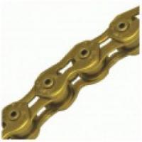 Цепь KMC X10 1/2x11/128TI-N Gold
