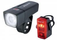 Комплект фонарей Sigma Sport AURA 25 K-SET CUBIC AA