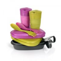 Набор туристической посуды Light My Fire Pack'n Eat Kit Gold Pink