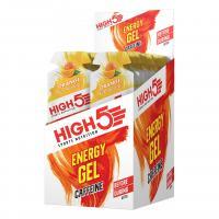 Гель энергетический HIGH5 Energy Gel Caffeine Orange 40g (Упаковка 20шт)