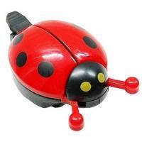 Звонок TW JH-505R Божья коровка пластик красный