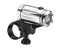 Фонарик Lezyne LED MINI DRIVE XL FRONT W/ ACC серебристый