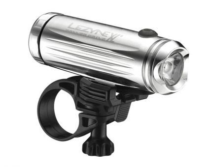 Фонарик Lezyne LED POWER DRIVE XL FRONT W/ ACC, серебристый
