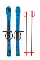 Лыжи с палками Marmat детские 90см синие