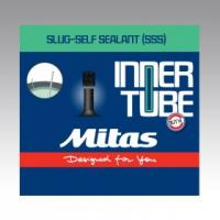 Камера MITAS (RUBENA) 28-29x1.5-2.1 (37/54x622/635) AV 35 мм Slug self sealant гель