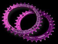 Звезда RACE FACE NARROW WIDE Purple