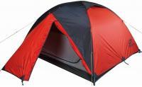 Палатка трехместная Hannah Covert 3 WS Black Red