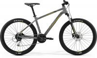 "Велосипед горный 27.5"" Merida BIG.SEVEN 100 MATT GREY(YELLOW/DARK GREY)"