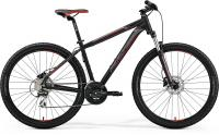 "Велосипед горный 27.5"" Merida BIG.SEVEN 20-D Matt Black Red Silver"