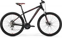 "Велосипед горный 27.5"" Merida BIG.SEVEN 20-MD Matt Black Red Silver"