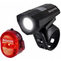 Комплект фонарей Sigma Sport BUSTER 100 NUGGET II FLASH USB