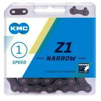 Цепь KMC Z1 Narrow Single-speed 112 звеньев Brown замок
