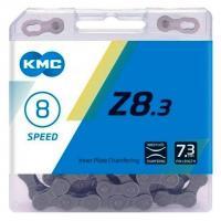 Цепь KMC Z8.3 7-8 скоростей 116 звеньев замок Silver ( 5 шт OEM)
