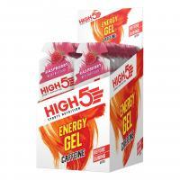Гель энергетический HIGH5 Energy Gel Caffeine Raspberry 40g (Упаковка 20шт)