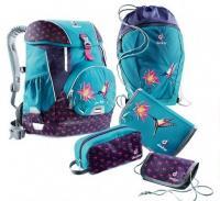 Набор школьный Deuter OneTwoSet - Sneaker Bag цвет 3044 petrol bird