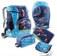 Набор школьный Deuter OneTwoSet - Sneaker Bag цвет 3045 navy soccer