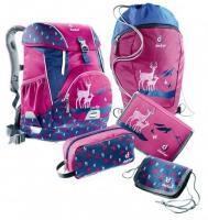 Набор школьный Deuter OneTwoSet - Sneaker Bag цвет 5018 magenta deer