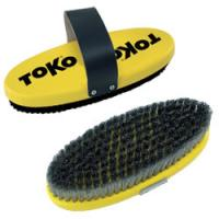 Щетка TOKO Base Brush oval Horsehair