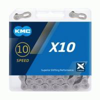 Цепь KMC X10 10 скоростей с замком 114 звеньев