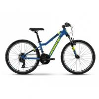 "Велосипед Haibike SEET HardFour 1.0 24"" Blue Yellow 2019"