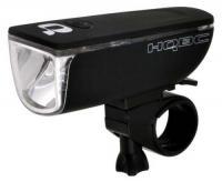 Свет передний HQBC MIRRORY 1W Hi-Power LED черный