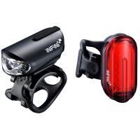 Комплект велосипедного света INFINI OLLEY 4F USB Black