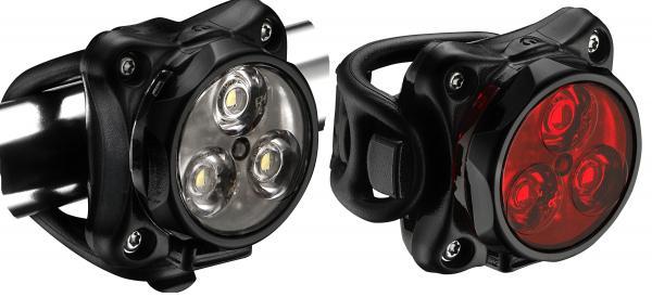 Набор велосипедных фонарей Lezyne ZECTO DRIVE PAIR Black