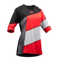 Велофутболка RACE FACE KHYBER Womens Jersey Gray Red