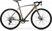 Велосипед MERIDA MISSION CX 100 SE XL GLOSSY PEARL SAND BLACK