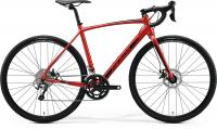 "Велосипед 28"" MERIDA MISSION CX 300 SE SILK XMAS RED BLACK 2020"