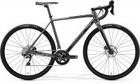 "Велосипед 28"" MERIDA MISSION CX 700 GLOSSY DARK GREY BLACK 2020"
