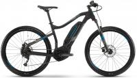 Велосипед электро Haibike SDURO HardSeven 1.0 400Wh Black Blue 2019