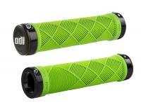 Грипсы для велосипеда ODI Cross Trainer MTB Lock-On Bonus Pack Lime Green with Black Clamps