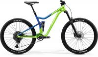 "Велосипед горный 27.5"" MERIDA 2020 ONE-FORTY 400 LIGHT GREEN GLOSSY BLUE 2020"