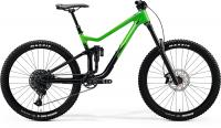 "Велосипед горный 27.5"" MERIDA ONE-SIXTY 3000 FLASHY GREEN GLOSSY BLACK 2020"