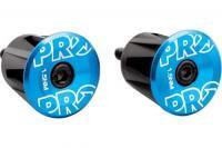 Вставки в руль PRO пара анодированные Blue