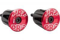 Вставки в руль PRO пара анодированные Red