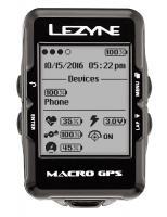 Велокомпьютер Lezyne MACRO GPS 2018 черный