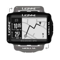 Велокомпьютер LEZYNE MEGA XL GPS 2019 LOADED Black ПРЕДЗАКАЗ