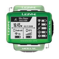 Велокомпьютер LEZYNE MEGA XL GPS 2019 Limited Green