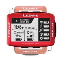 Велокомпьютер LEZYNE MEGA XL GPS 2019 Limited Red