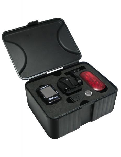 Велокомпьютер с GPS LEZYNE MICRO COLOR GPS HRSC LOADED +Пульсометр +Каденс 2018 Black