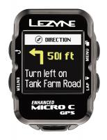 Велокомпьютер с GPS LEZYNE MICRO COLOR GPS HRSC LOADED +Пульсометр +Каденс 2018 Black