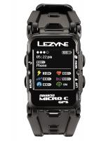 Часы фитнес-трекер для бега и велоспорта Lezyne Micro GPS WATCH COLOR 2018 Black