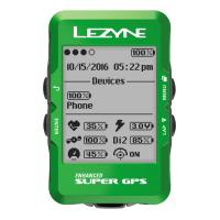 Велокомпьютер с GPS Lezyne SUPER GPS 2019 Limited Green